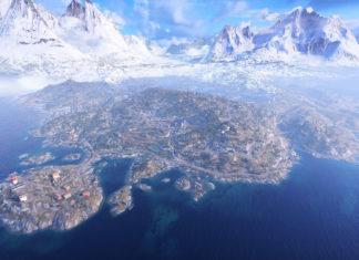 Battlefield 5: Firestorm Map Größe