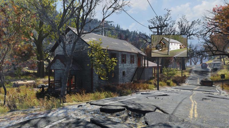 Fallout 76 Helvetia Spiel und Wirklichkeit