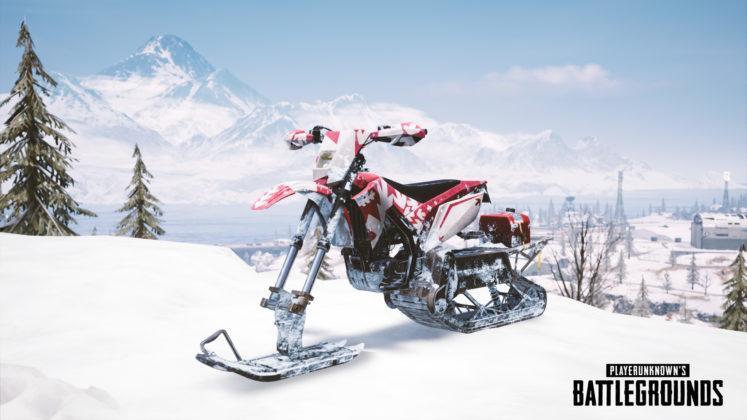 PUBG PC 1.0 Update #26 Testserver Snowbike