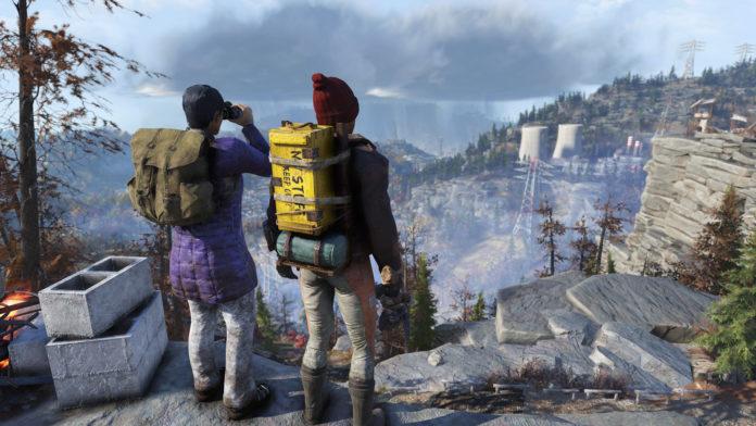 Fallout 76 Rucksack Pfadfinder