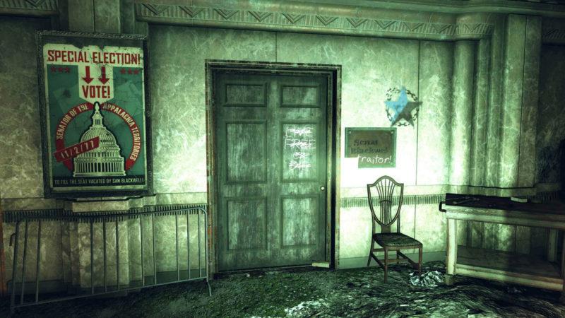 Fallout 76 Verbrannten-Aufspürsystem