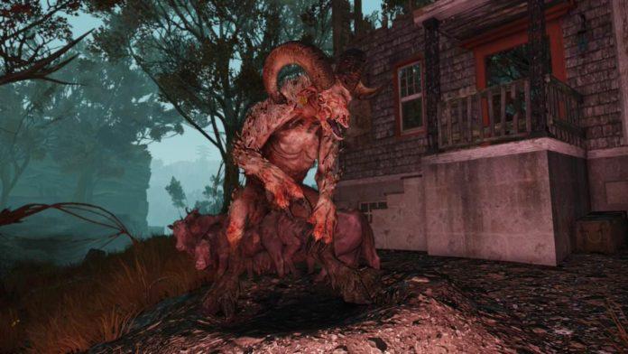 Fallout 76 Sheepsquatch Event