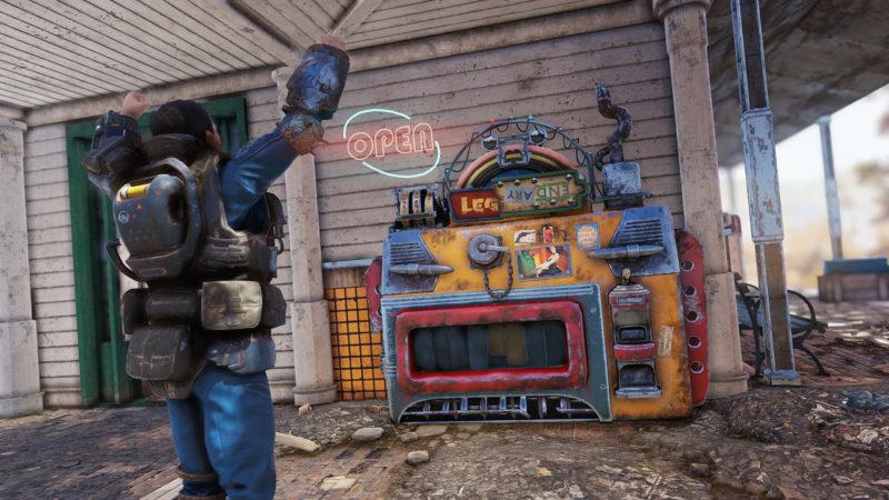 Fallout 76 Patch 9 Spieler-Verkaufsautomaten