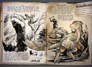 ARK: Survival Evolved Deinonychus Dino Dossier