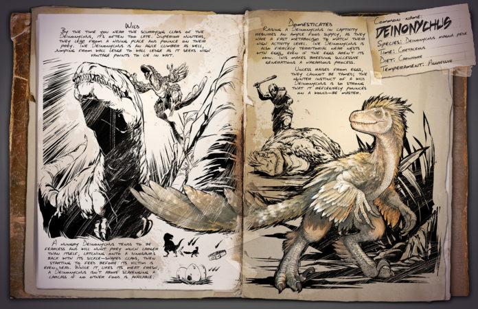 ARK: Survival Evolved Deinonychus Dino Dossier