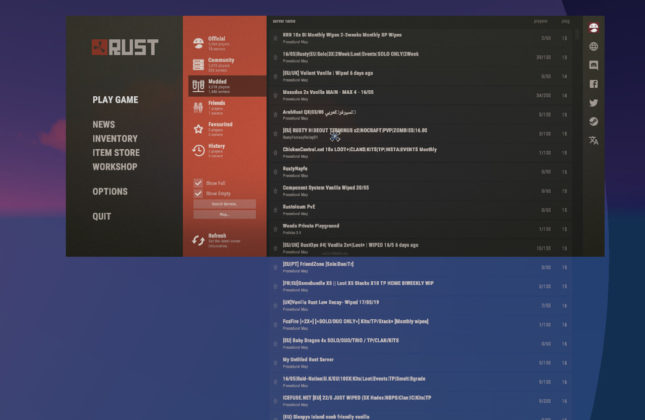 Rust Giddy Up Juni Update Serverliste