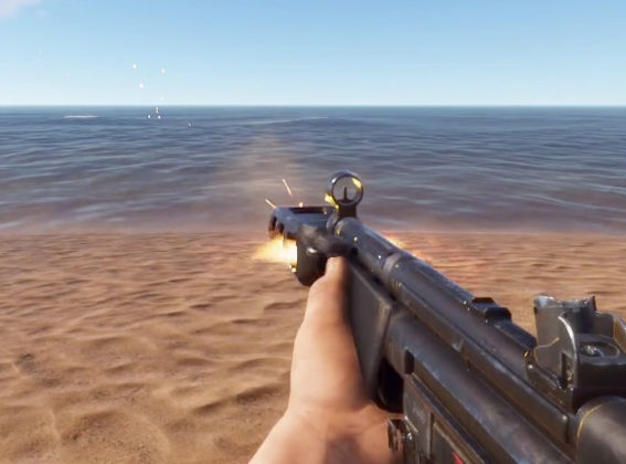 Rust Giddy Up Juni Update Waffen VFX