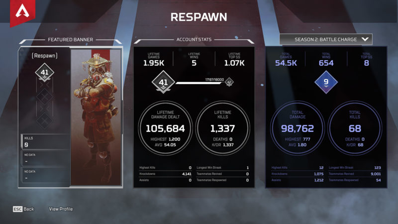 Apex Legends Saison 2 Patchnotes