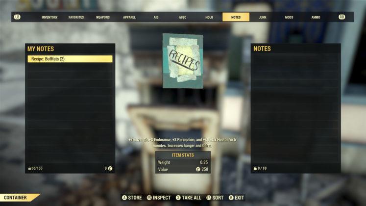 Fallout 76 Patch 11 Vorschau