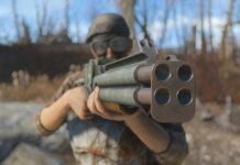 Fallout: Miami Quad-Barrel-Shotgun Mod
