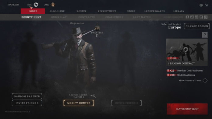 Hunt: Showdown Trio-Modus und UI 2.0