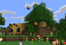 Minecraft Java Update 1.15 Bienen