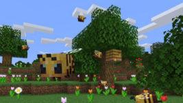 Minecraft Java Update 1.15 Bienen