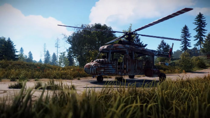 Rust Transport Helicopter Update