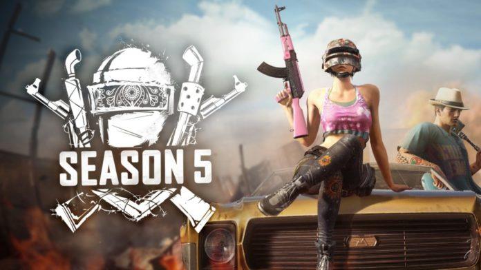 PUBG Update 5.1 Season 5