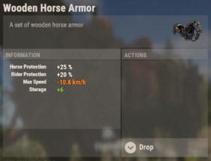 Rust Oktober-Update Pferde-Ausrüstung Rüstung