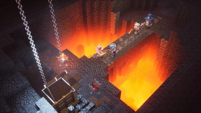 Minecraft Dungeons Release-Monat