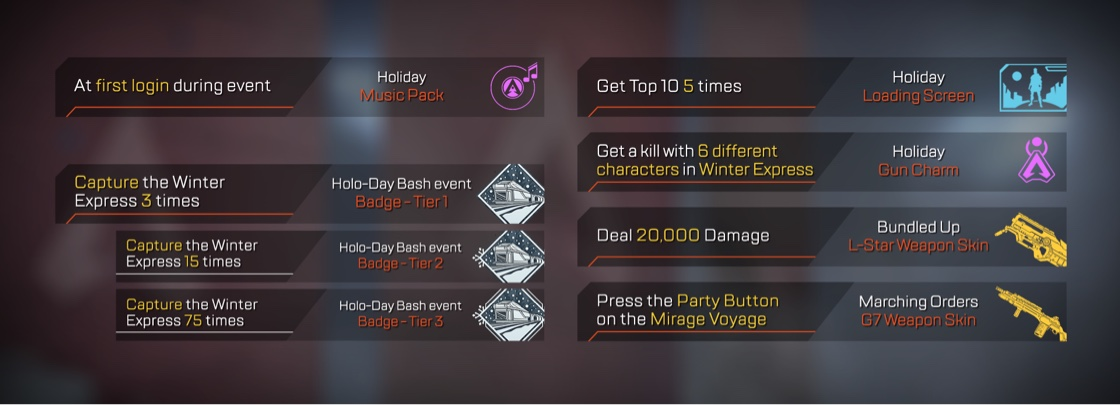 Apex Legends Mirage Holo-Day Bash Event