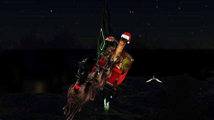 ARK: Winter Wonderland 4 Raptor Claus