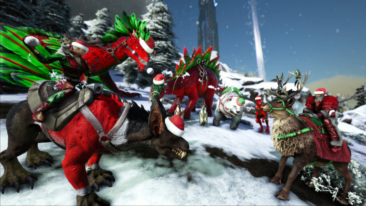 ARK: Winter Wonderland 4 Skins