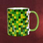 Minecraft Pixel-Tasse