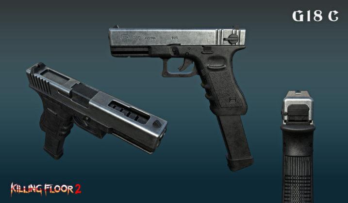 Killing Floor 2 Yuletide Horror G18C