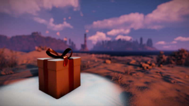 Rust Season's Beatings Weihnachts-Event Geschenk
