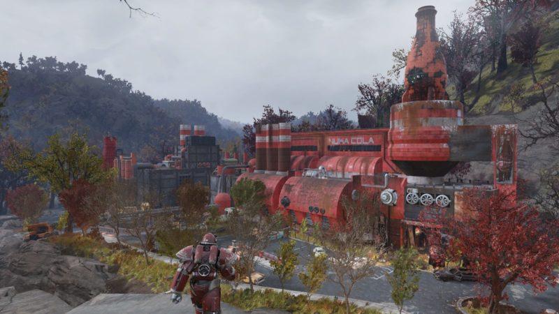 Fallout 76 Nuka Cola T-51b-Lackierung