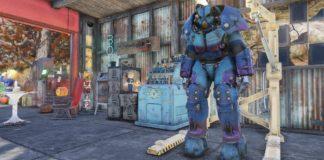 Fallout 76 Nuka Cola Quantum X-01-Lackierung