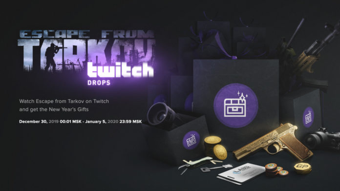 Escape from Tarkov Twitch Drops bekommen