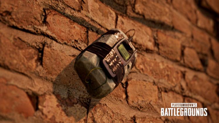 PUBG Karakin Karte schwarze Zonen Haftbombe