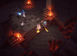 Minecraft Dungeons Spielumgebung