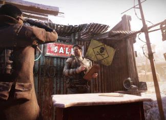 Fallout 76 Wastelanders Basis-Umzug