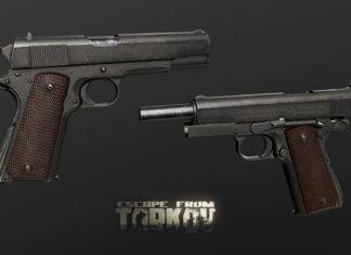 Escape from Tarkov Shpagin PPSH-41 Colt M1911