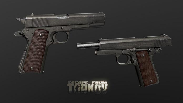Escape from Tarkov Shpagin PPSH-41 Colt M1911