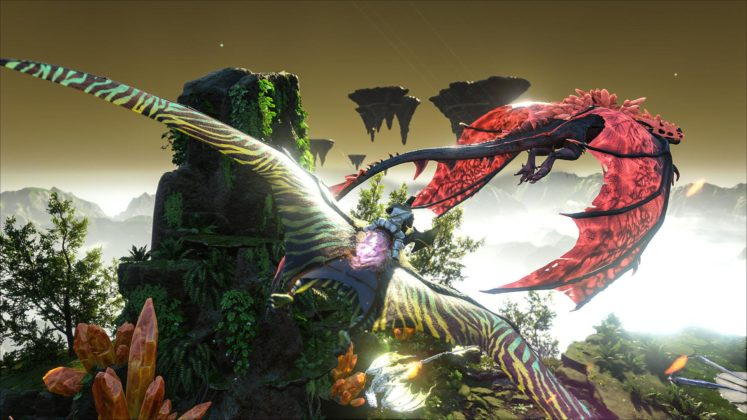 ARK: Survival Evolved Crystal Isles