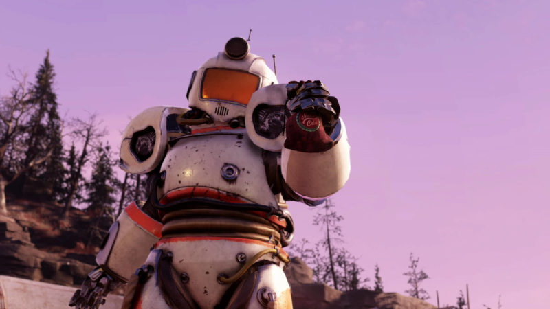Fallout 76 Season 1 Captain Cosmos Powerrüstung