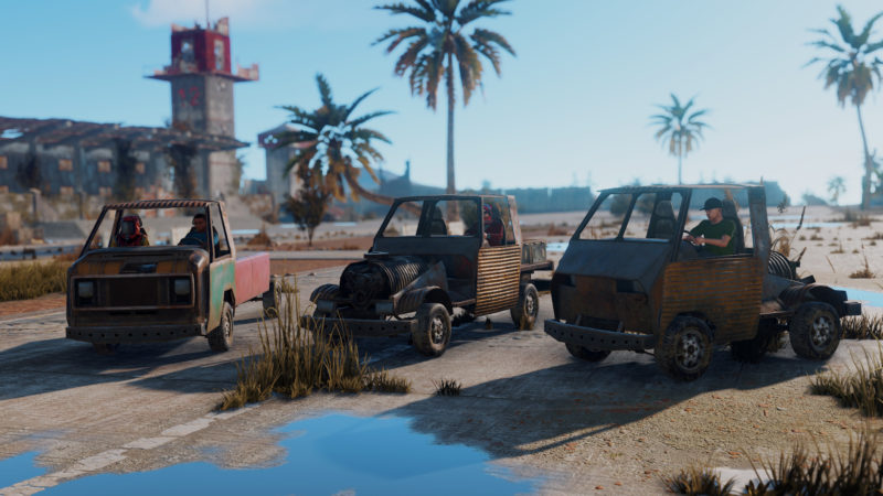 Rust Fahrzeug Preview