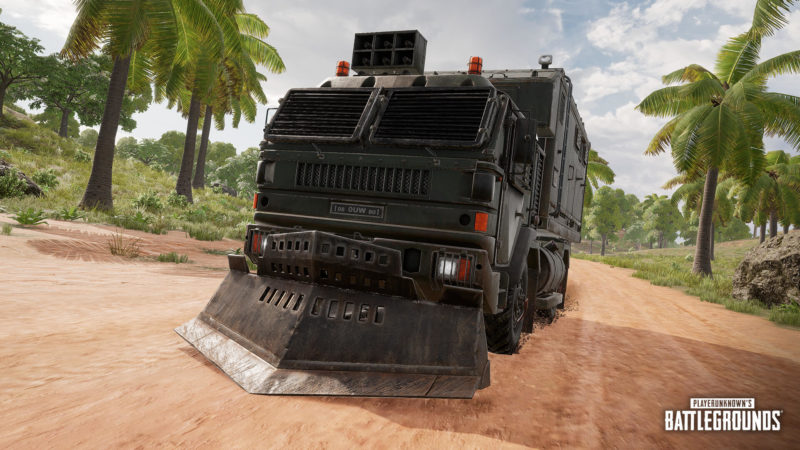 PUBG Saison 8 Sanhok Remaster Loot Trucks