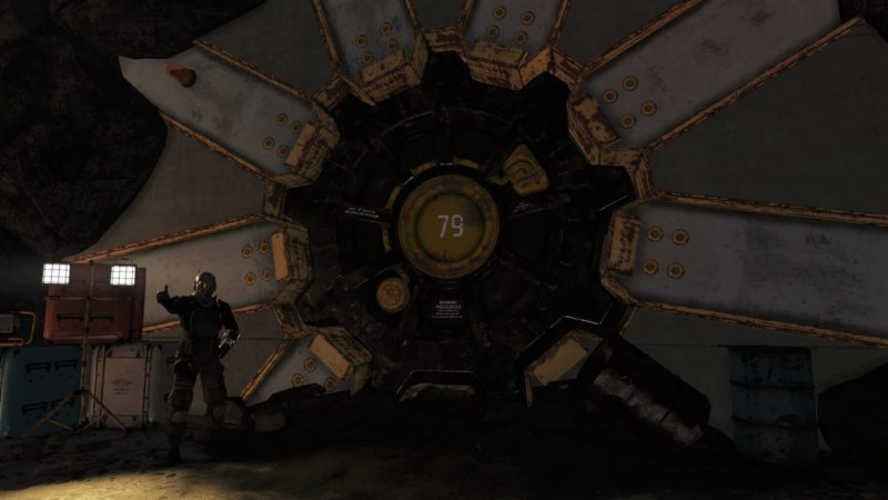 Fallout 76 - Vault 79 Eingang