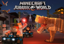 Minecraft Jurassic World-DLC