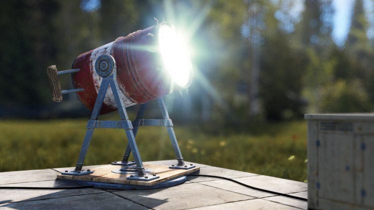 Rust Boat Vendor Update - Suchscheinwerfer
