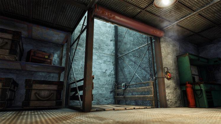 Rust Elevator Update - Aufzug 01