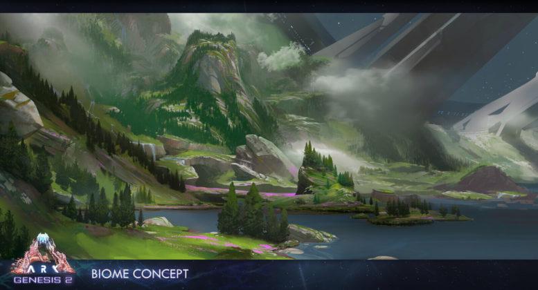 ARK: Genesis Part 2: Biom Konzept 01