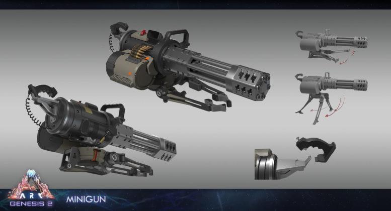 ARK: Genesis Part 2: Minigun