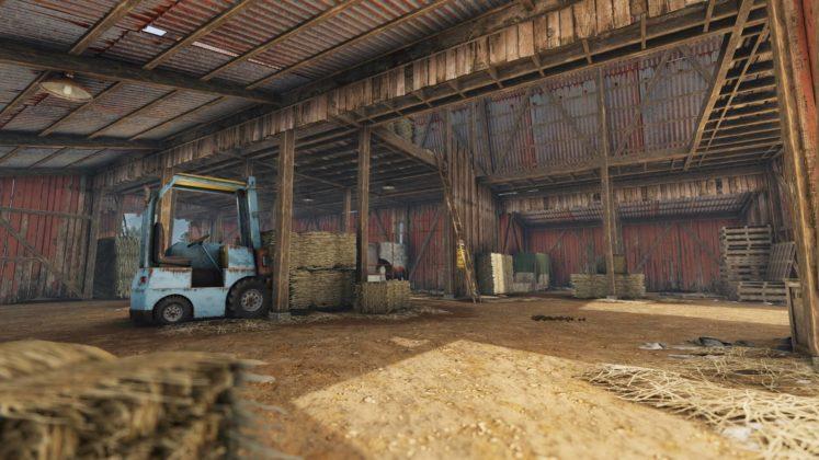 Rust - Stables Update - Ställe