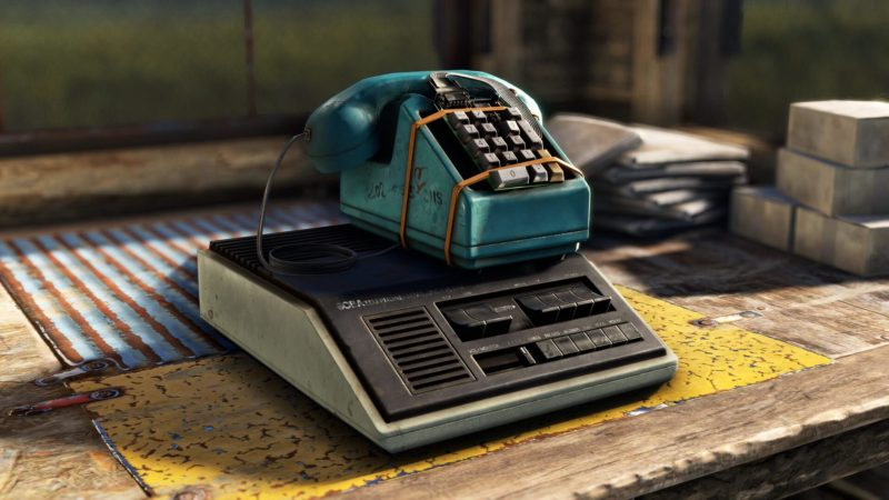 Rust - Stables Update - Telefon
