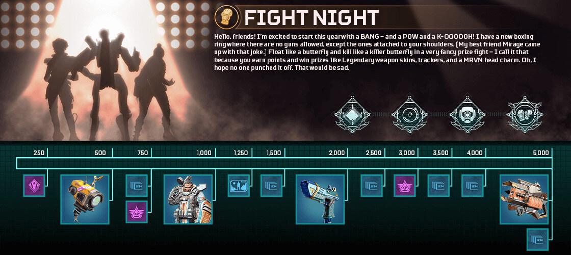 Apex Legends - Fight Night Event Belohnungen