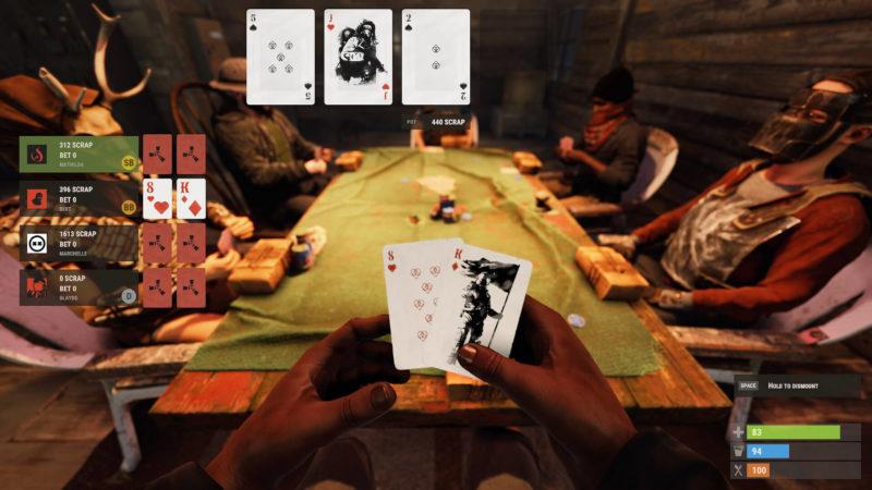 Rust - Gesture Update Pokertische