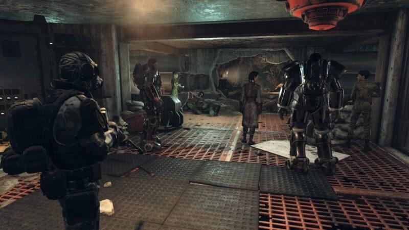 Fallout 76 - ATLAS Unterbau - Stählerne Dämmerung - Bruderschafts-Quests Guide